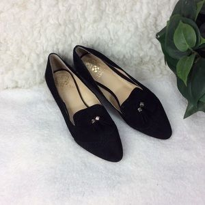 Vince Camuto Rizell Black Women's Loafers Size 8.